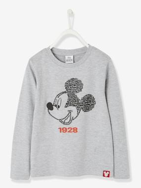 Minnie and Mickey-Long-Sleeved Mickey® Top
