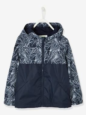 Vertbaudet Collection-Boys-Magic Windcheater: Changes Colour in the Rain, for Boys