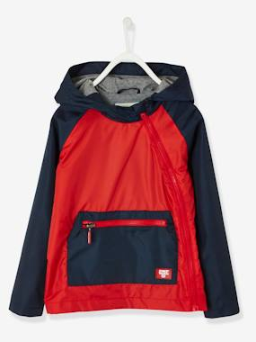 Basics and Multipacks-Packaway Windcheater for Boys