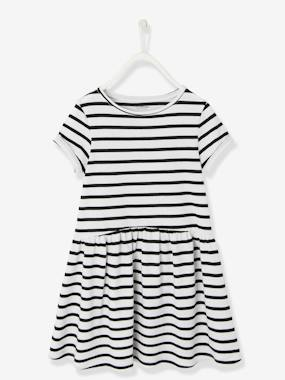 Mid season sale-Girls-Dresses-Girls' Short-Sleeved Dress