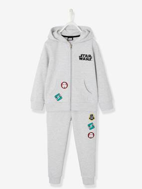 Nouvelle collection Vertbaudet-Ensemble Star Wars® pantalon + gilet à capuche