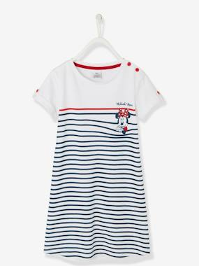 Girls-Navy-Style Minnie® Dress