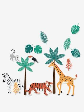 Vertbaudet Collection-Decoration-Green Jungle XL Stickers