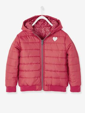 Winter collection-Girls-Coats & Jackets-Reversible Padded Jacket for Girls