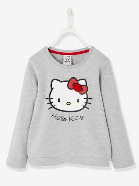 Girls-Cardigans, Jumpers & Sweatshirts-Sweatshirts & Hoodies-Hello Kitty® Printed Sweatshirt, Fancy Bottom Part