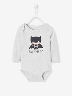 Baby-Bodysuits & Sleepsuits-Batman® Bodysuit, Printed with Removable Cape