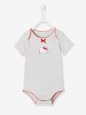 Baby-Bodysuits & Sleepsuits-Short-Sleeved Hello Kitty® Bodysuit for Babies