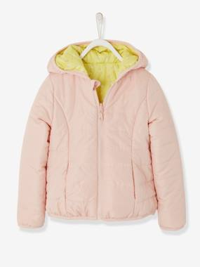 Vertbaudet Sale-Girls-Reversible Jacket for Girls