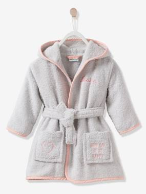 Vertbaudet Sale-Cat Bathrobe for Babies