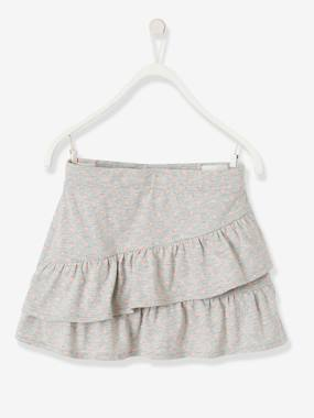 Girls-Skirts-Skirt with Frills for Girls
