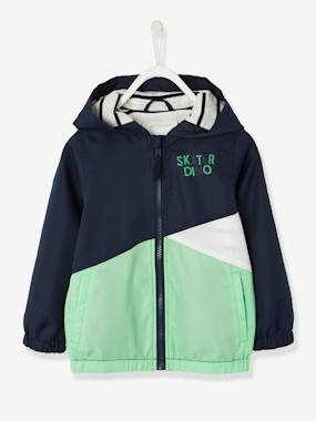 Mid season sale-Boys-Coats & Jackets-Hooded Windcheater with Striped Lining for Boys