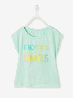 Girls-Sportswear-T-shirt for Girls with Stylish Message