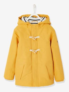 Mid season sale-Duffle Coat-Type Parka with Hood, for Boys
