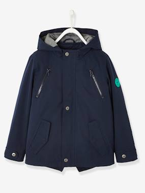 Boys-Coats & Jackets-3-in-1 Parka for Boys