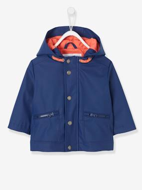 Baby-Outerwear-Coats-Rubber Raincoat for Baby Boys