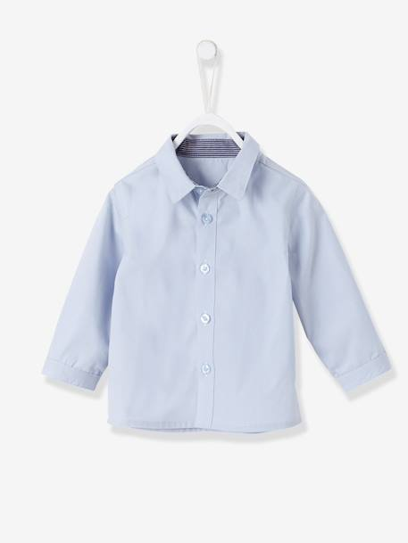 Baby Boys' Cardigan, Shirt, Bowtie & Trousers Outfit Set Ink/grey/light blue - vertbaudet enfant