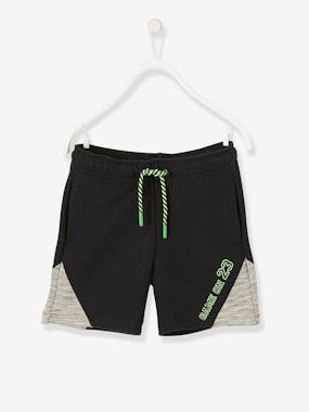 Boys-Shorts-Sports Bermudas Shorts for Boys, Techno Fabric