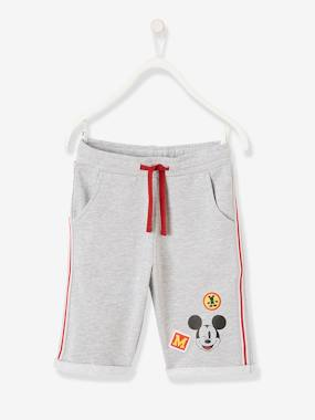 Minnie and Mickey-Boys-Mickey® Bermuda Shorts in Fleece