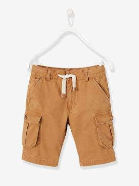 Summer collection-Boys-Cargo-Style Bermuda Shorts for Boys