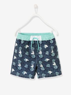 Minnie and Mickey-Boys-Mickey® Printed Swim Shorts