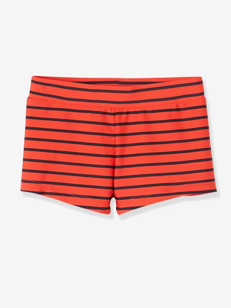 Pack of 2 Assorted Swim Shorts for Boys RED BRIGHT 2 COLOR/MULTICOL - vertbaudet enfant