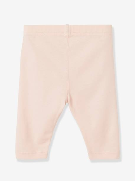 Lot de 2 leggings courts pour bébé fille LOT BLEU ROYAL+LOT GRIS CHINE+LOT MELON FLUO - vertbaudet enfant
