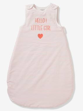 Vertbaudet Collection-Bedding-Summer Special Sleep Bag, HELLO LITTLE GIRL