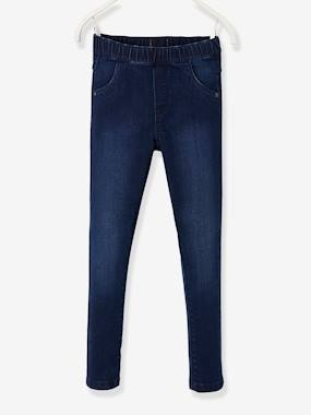 Girls-Jeans-Medium Hip, MorphologiK Treggings for Girls