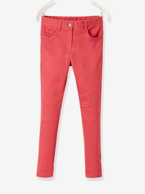 Short & Bermuda - Vertbaudet Fashion specialist for kids and baby : clothing, shoes and accessories-Indestructible Slim Leg Trousers for Girls