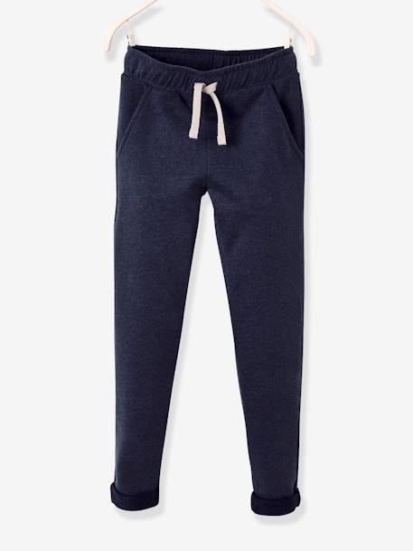 e69967f7f Boys  Fleece Trousers - blue dark mixed color
