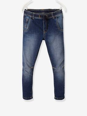 Boys-Jeans-Straight Cut Jeans for Boys with Bow Leg