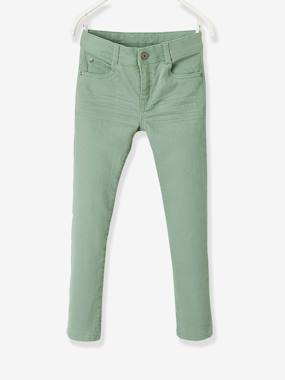 Vertbaudet Collection-Boys-NARROW Fit - Boys' Slim Cut Trousers