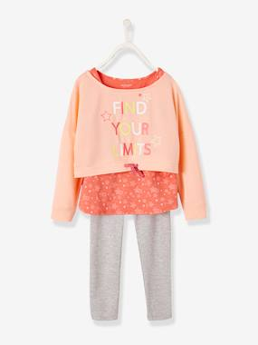 Girls-Sportswear-3-Piece Sports Set for Girls