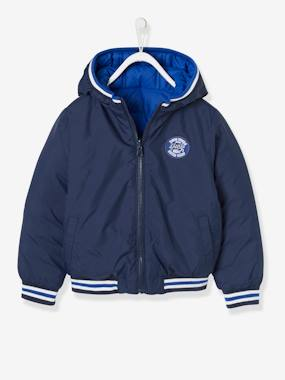 Boys-Coats & Jackets-Reversible Jacket for Boys