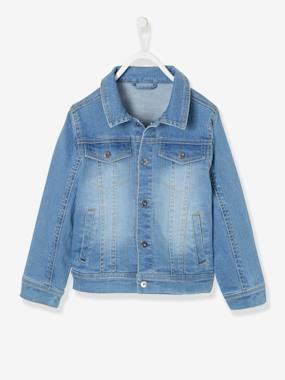Boys-Coats & Jackets-Denim Jacket for Boys
