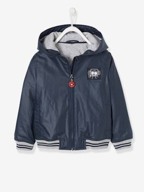 Coat & Jacket-Hooded Jacket for Boys