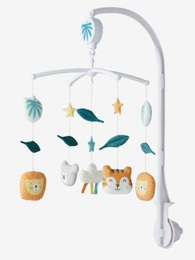 Nursery-Jungle Party Musical Mobile Set