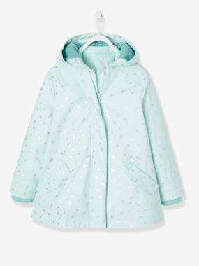 Girls-Coats & Jackets-3-in-1 Raincoat for Girls