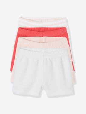 Basics and Multipacks-Baby-Pack of 4 Baby Boys Terry Swim Shorts
