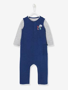 Baby-Outfits-Fleece Jumpsuit & Top for Baby Boys