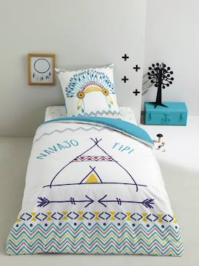 household linen-Duvet Cover & Pillowcase Set, Lil' Indian