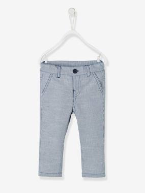 Baby-Trousers & Jeans-Striped Trousers for Baby Boys