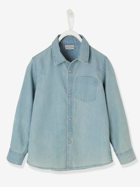 Boys-Shirts-Denim Shirt for Boys