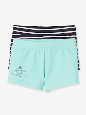 Mid season sale-Boys-Pack of 2 Assorted Swim Shorts for Boys
