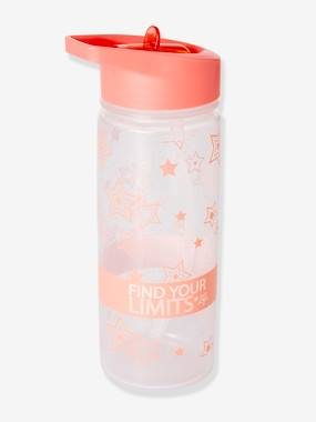Girls-Sportswear-Water Bottle, Star Motifs