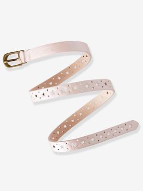 Girls-Accessories-Belts-Narrow Openwork Belt with Stars for Girls
