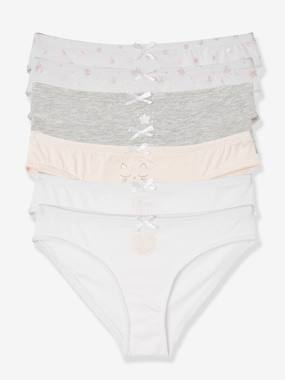 Mid season sale-Girls-Underwear-Pack of 7 Briefs for Girls
