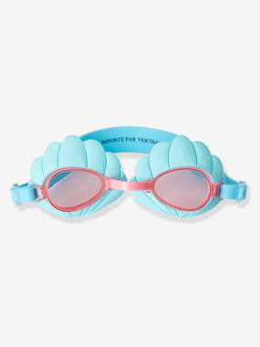 Vertbaudet Sale-Girls-Shell-Shaped Goggles for Girls