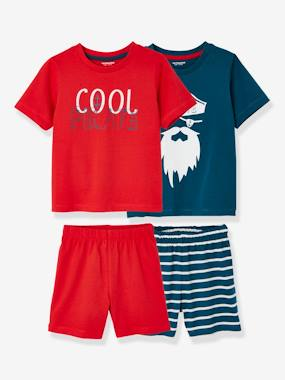 New collection preview-Boys-Pack of 2 Mix & Match Short Pyjamas for Boys
