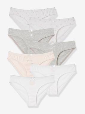 Girls-Underwear-Knickers-Pack of 7 Briefs for Girls
